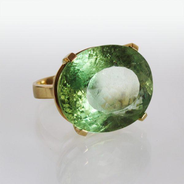 Ring 18k Gold Beryll