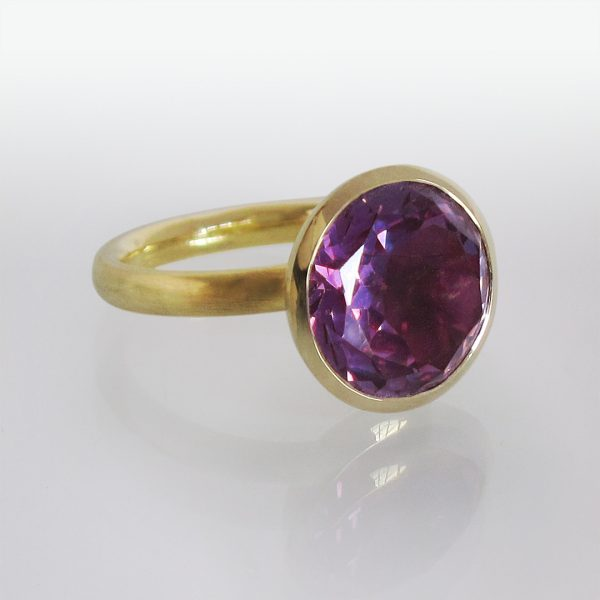 Ring 14k Gold Alexandrit