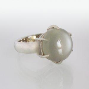 Ring Silber Mondstein
