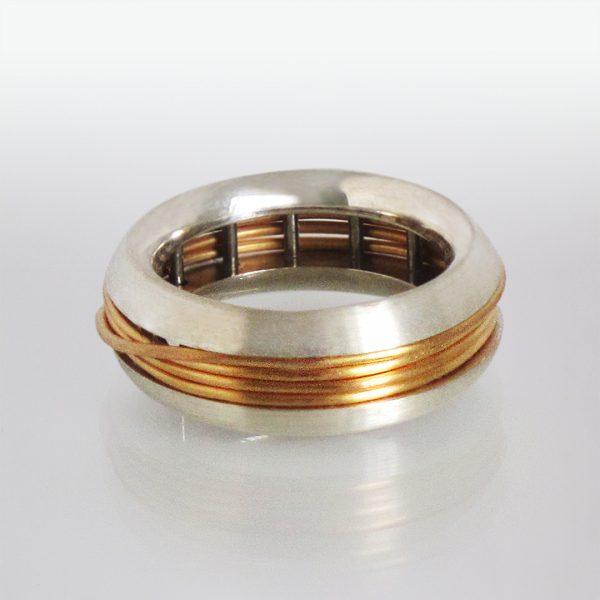 Ring Silber Kupfer